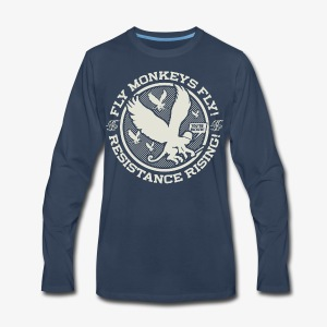 Johnny Cirucci's Flying Monkey Squad: emblem 01 - Men's Premium Long Sleeve T-Shirt