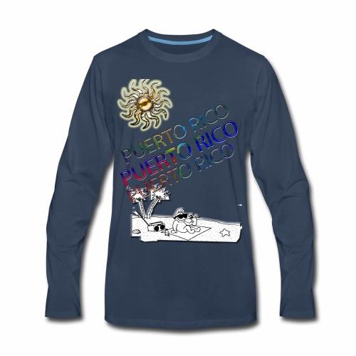 PUERTORICO playera - Men's Premium Long Sleeve T-Shirt