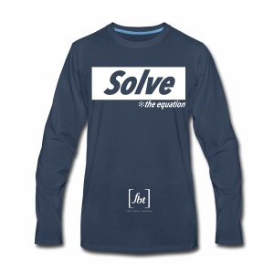 Solve the Equation [fbt] - Men's Premium Long Sleeve T-Shirt