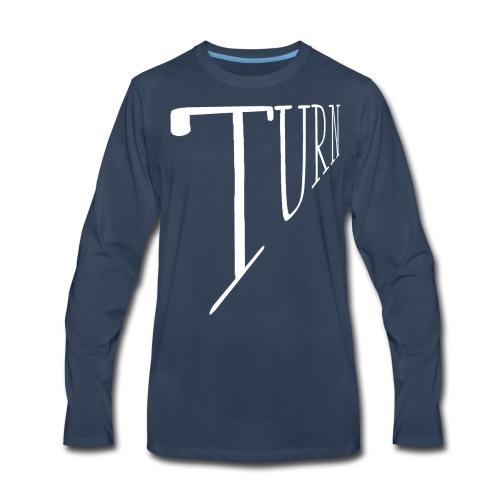 turn clothing co perspective white - Men's Premium Long Sleeve T-Shirt