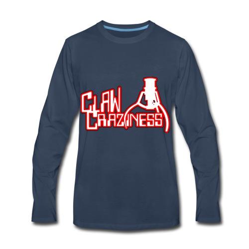 Claw Crazy - Men's Premium Long Sleeve T-Shirt