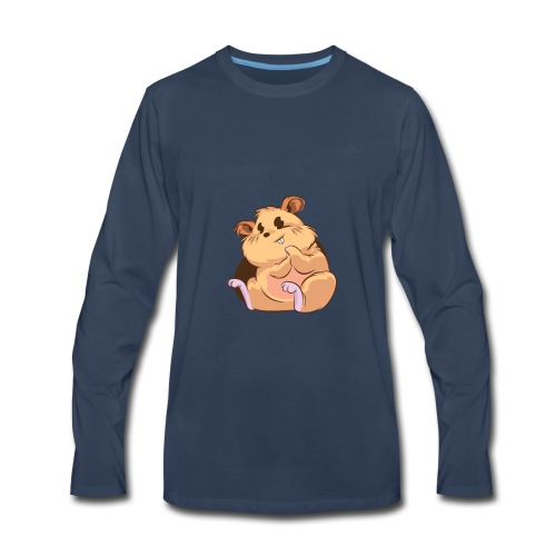 Chappy the Hamster - Men's Premium Long Sleeve T-Shirt