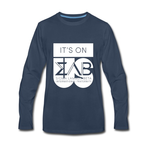 Its On Betas White - Men's Premium Long Sleeve T-Shirt