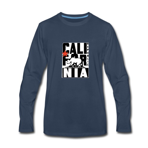 Republic of California - Men's Premium Long Sleeve T-Shirt