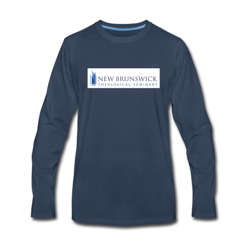 NBTS Logo - Collection 2 - Men's Premium Long Sleeve T-Shirt