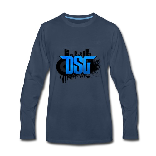 DSG Graffiti - Men's Premium Long Sleeve T-Shirt