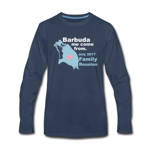 Barbuda Family Reunion - Men's Premium Long Sleeve T-Shirt