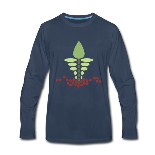 Growy Veggie - Men's Premium Long Sleeve T-Shirt
