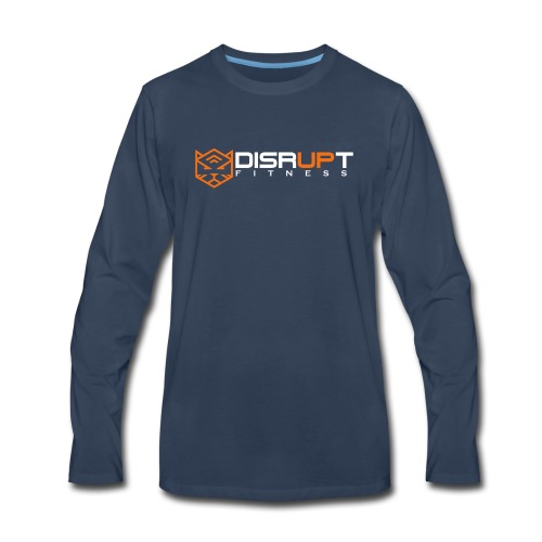 disrupt logo - Men's Premium Long Sleeve T-Shirt