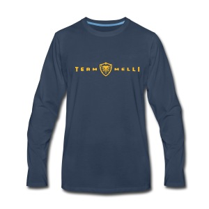 Team Melli Lion - Men's Premium Long Sleeve T-Shirt