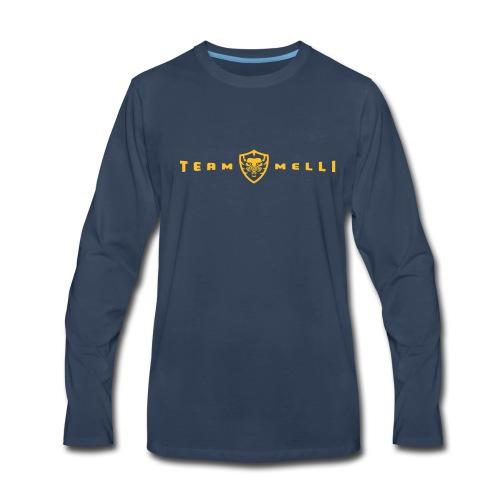 Team Melli Lion - Men's Premium Long Sleeve T-Shirt