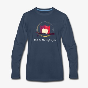 Owls Date - Men's Premium Long Sleeve T-Shirt