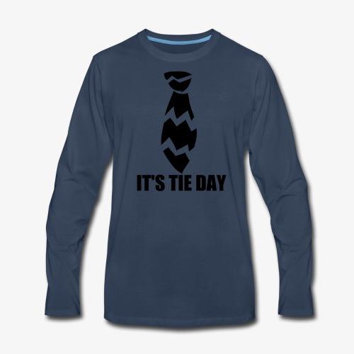 Tie Day - Men's Premium Long Sleeve T-Shirt