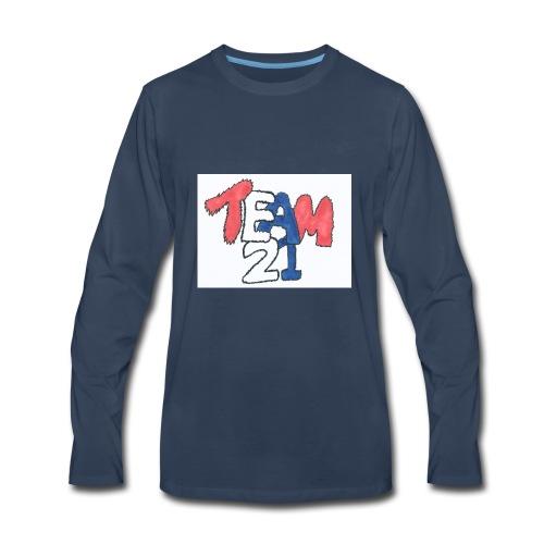 team 21 the best - Men's Premium Long Sleeve T-Shirt
