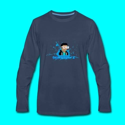 ScaryTylerZ Merchandise - Men's Premium Long Sleeve T-Shirt