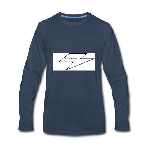 im so smart - Men's Premium Long Sleeve T-Shirt
