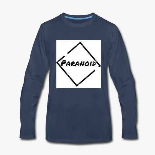 paranoid - Men's Premium Long Sleeve T-Shirt