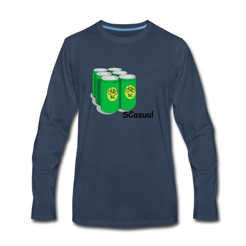 SCasual - Men's Premium Long Sleeve T-Shirt