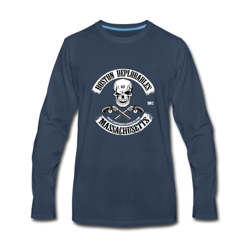boston deplorable - Men's Premium Long Sleeve T-Shirt