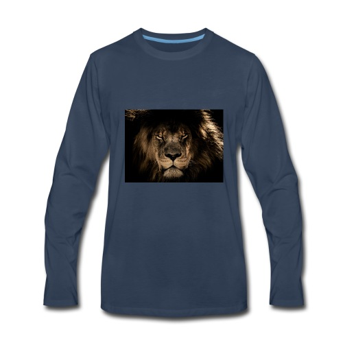 african lion 2888519 1920 - Men's Premium Long Sleeve T-Shirt