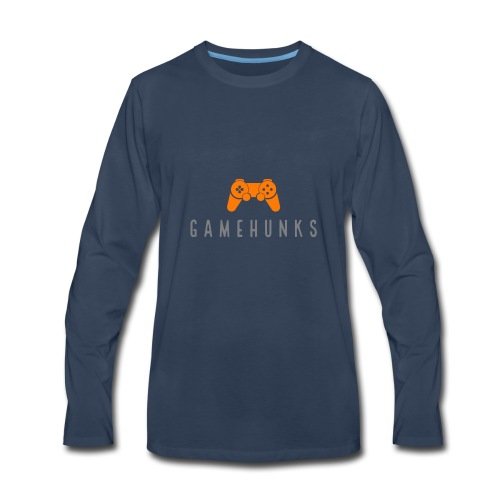 Gamehunks - Men's Premium Long Sleeve T-Shirt