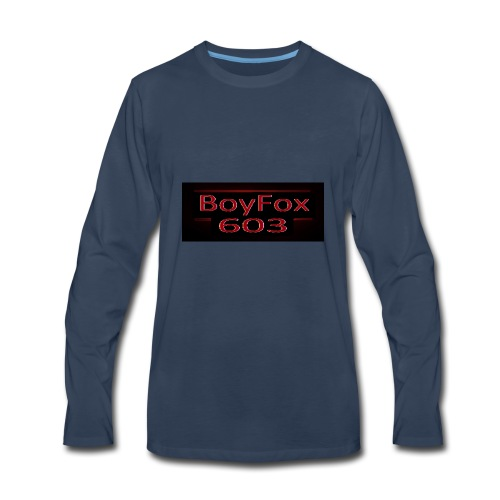 BoyFox 603 Stranger Things - Men's Premium Long Sleeve T-Shirt