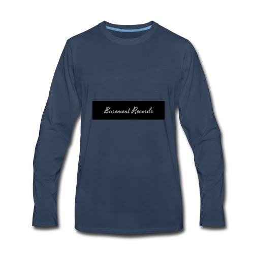 Basement Records - Men's Premium Long Sleeve T-Shirt