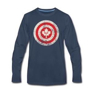 Canadian Shield - Men's Premium Long Sleeve T-Shirt