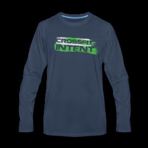 Splatter CFI Logo Trans - Men's Premium Long Sleeve T-Shirt