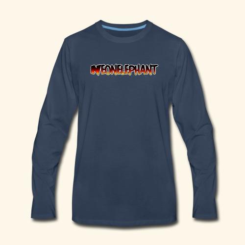 NEONELEPHANT - Men's Premium Long Sleeve T-Shirt