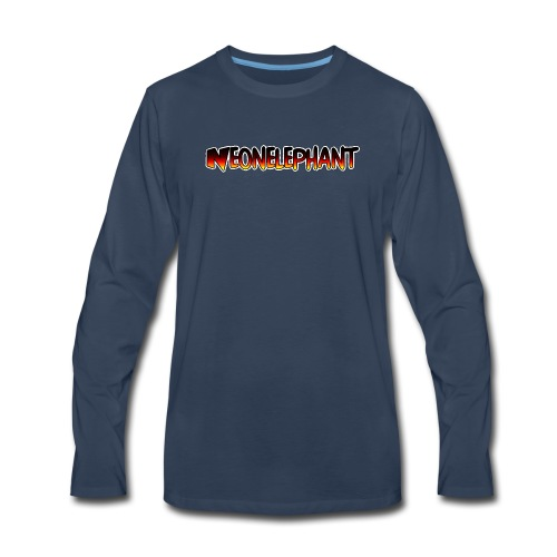 NEONELEPHANT - Men's Premium Long Sleeve T-Shirt