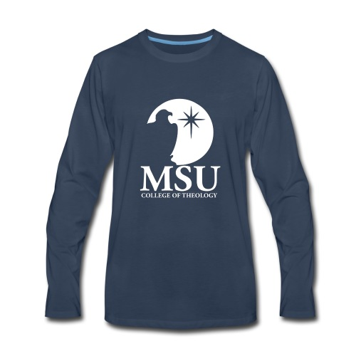 MorningStar College Theology - Men's Premium Long Sleeve T-Shirt