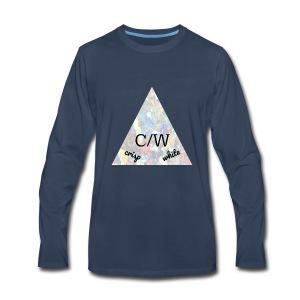 crisp white - Men's Premium Long Sleeve T-Shirt