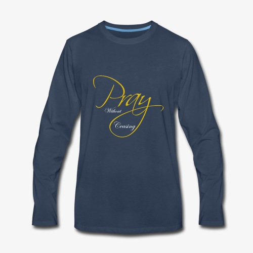 Pray - Men's Premium Long Sleeve T-Shirt