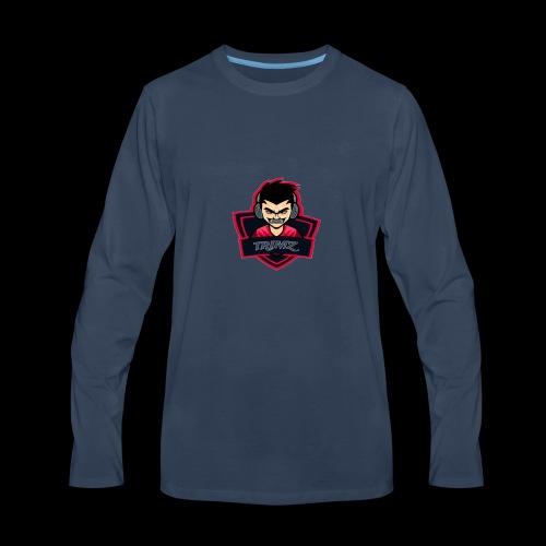 Trimz Army Trimz Logo - Men's Premium Long Sleeve T-Shirt