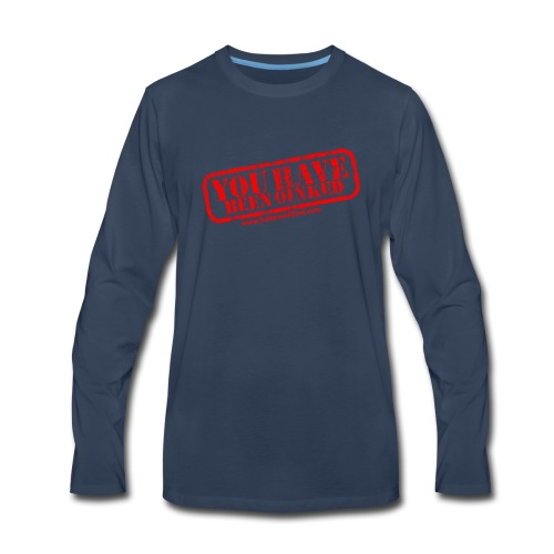 YOU HAVE BEEN OINKED! - Men's Premium Long Sleeve T-Shirt