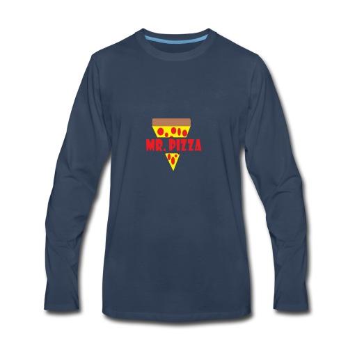Slice of Pizza Design - Men's Premium Long Sleeve T-Shirt
