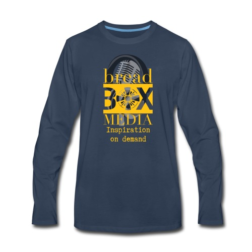 Breadbox Media - Inspiration on demand - Men's Premium Long Sleeve T-Shirt