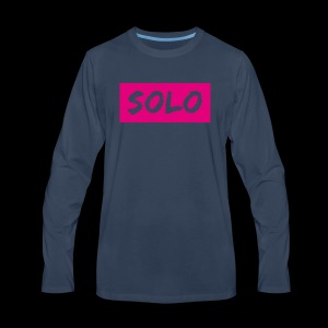 solos logo - Men's Premium Long Sleeve T-Shirt