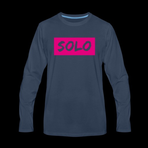 solos logo - Men's Premium Long Sleeve T-Shirt