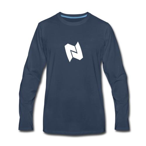 Nexa Logo - Men's Premium Long Sleeve T-Shirt