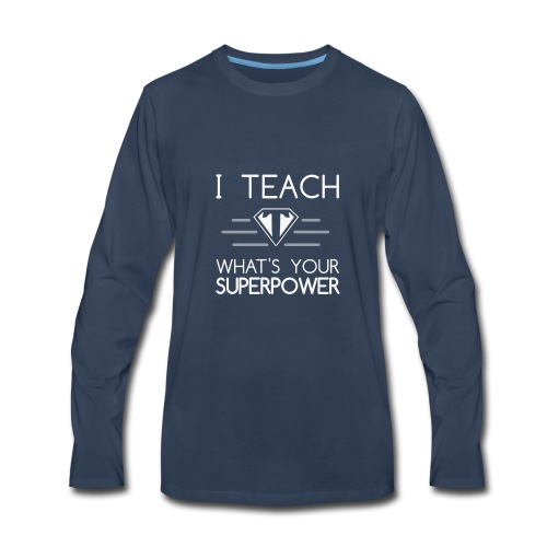 Super Teacher - Men's Premium Long Sleeve T-Shirt