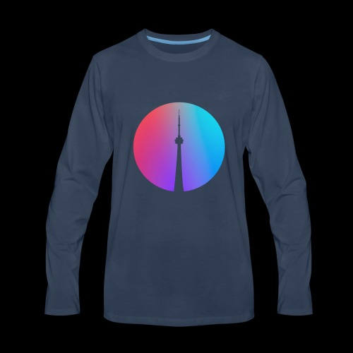 ABIZHEY - Spectrum - Men's Premium Long Sleeve T-Shirt