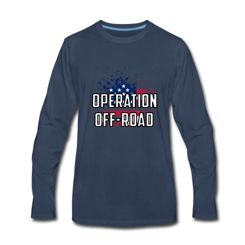Operation Off-Road OG Logo - Men's Premium Long Sleeve T-Shirt