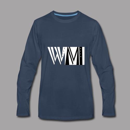WALLSMAFIAwhite - Men's Premium Long Sleeve T-Shirt