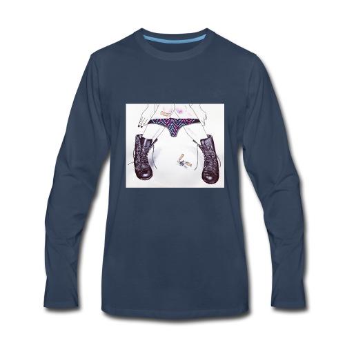 DopeChicK - Men's Premium Long Sleeve T-Shirt