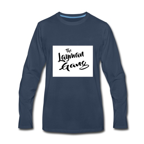 The layman gang shirt - Men's Premium Long Sleeve T-Shirt