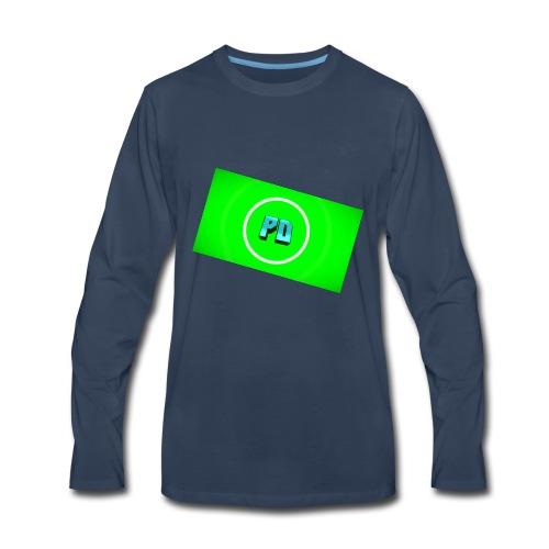 PD Green - Men's Premium Long Sleeve T-Shirt