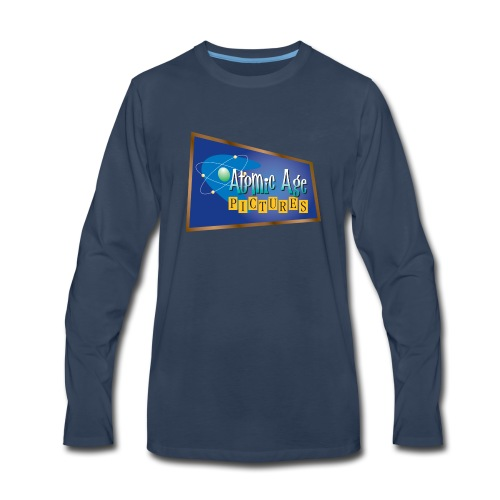 AtomicAgeLogo - Men's Premium Long Sleeve T-Shirt