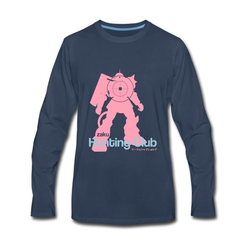 Zaku Hunting Club - Men's Premium Long Sleeve T-Shirt